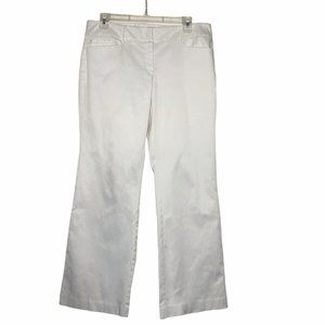 7th Avenue Suiting Coll. White Pants Size 8P